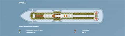 aidaprima deckplan 12 aidaprima deck 12 169 aida cruises