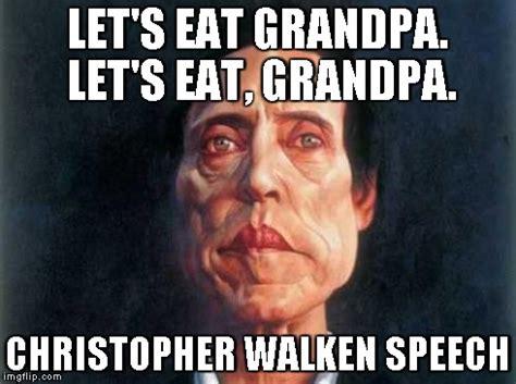 Christopher Walken Meme - christopher walken speech imgflip