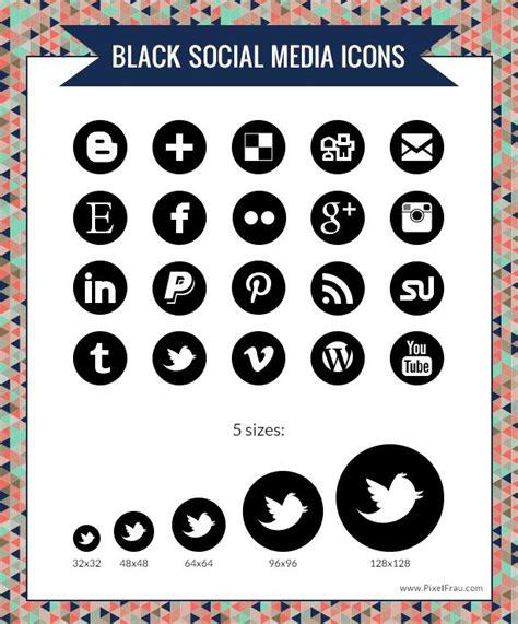social media icons newhairstylesformen2014 com black social media icons social media icons free black