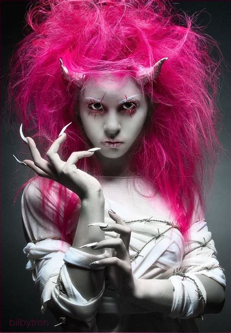 halloween hairstyles devil fun halloween hairstyles strayhair