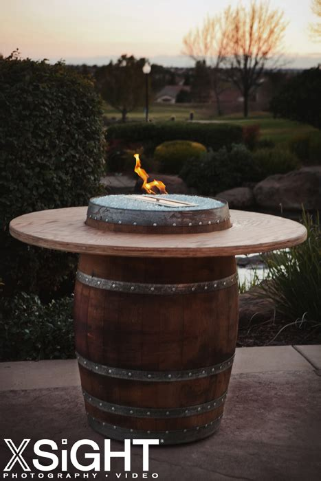 wine barrel fire pits sonoma county fire pits