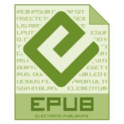 file epub icon  mnemo filetype icons iconspedia