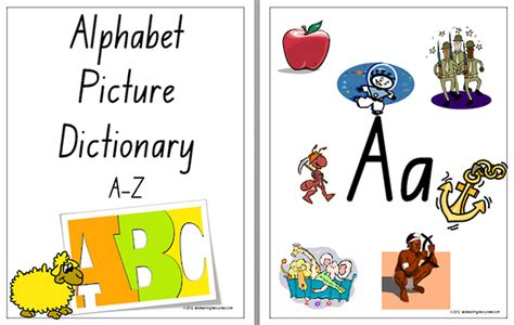 printable alphabet dictionary number names worksheets 187 a to z alphabets chart free