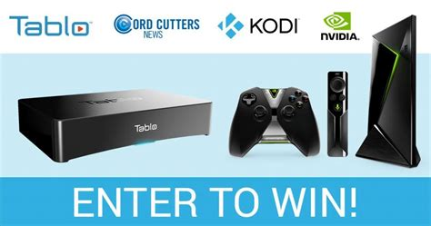 Nvidia Giveaway - giveaway last day to enter to win a tablo dvr nvidia shield cord cutters news