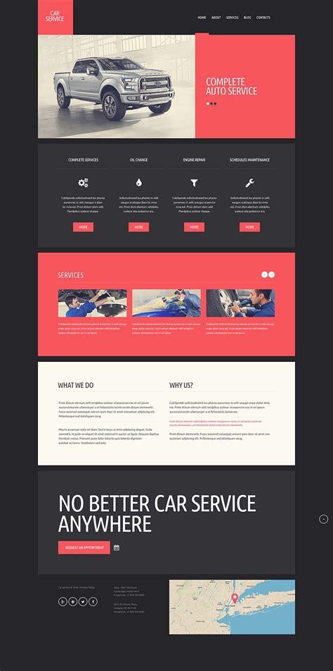 Car Repair Responsive Website Template 51352 Car Repair Responsive Website Template Free