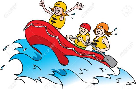 rafting boat clipart raft clipart cartoon pencil and in color raft clipart