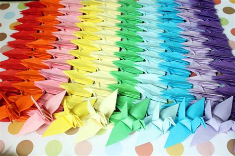 1000 Paper Crane 1000 paper cranes crafts customized for wedding