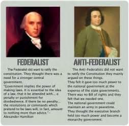 Anti Federalist And Federalist Essays by Anti Federalist Thinglink