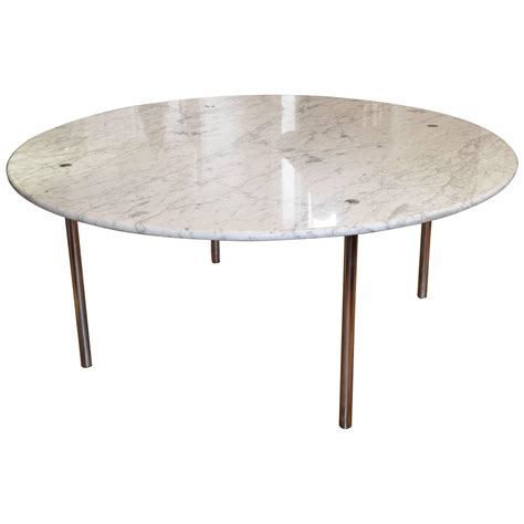 Dining Marble Table Monumental Marble Dining Table By Katavolos Littell And For Laverne At 1stdibs