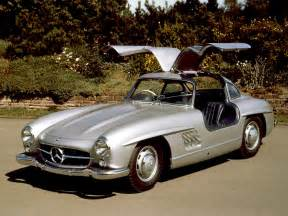 Mercedes 300sl Gullwing Coupe 1954 1957 Mercedes 300sl Gullwing Coupe Front Angle