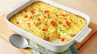 overnight brunch egg bake recipe pillsbury com