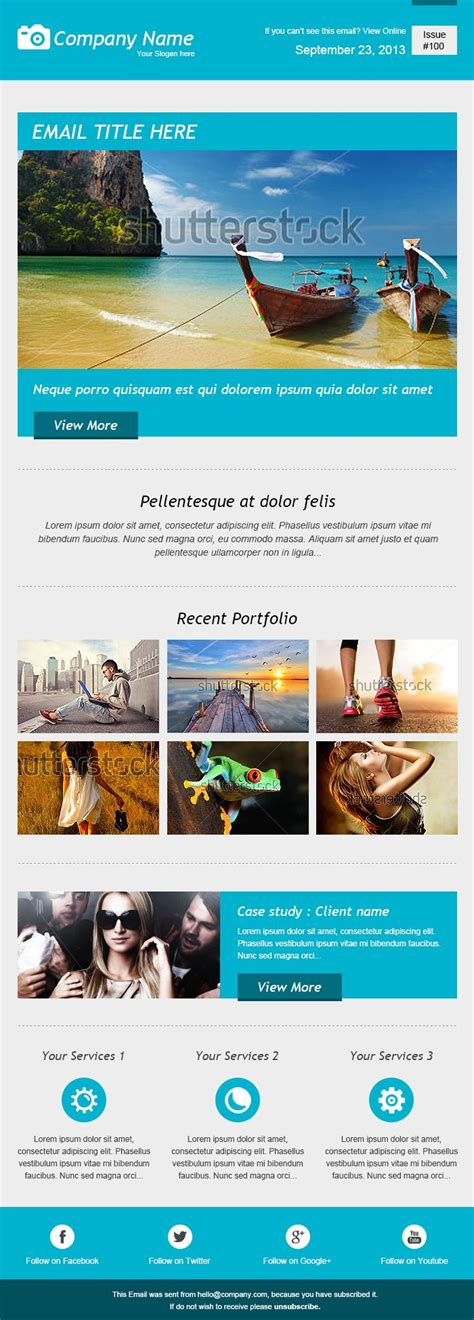 21 best newsletter templates and email marketing images on