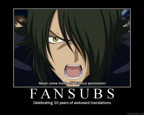 anime subtitles anime demotivational posters japan powered
