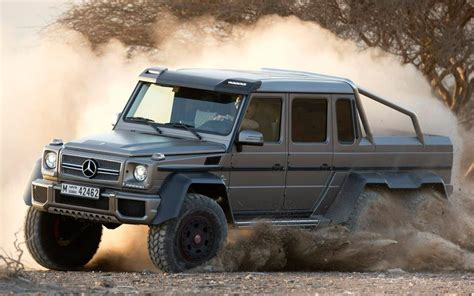 mercedes g class 6x6 mercedes benz g63 amg 6x6 is new king of the g class family