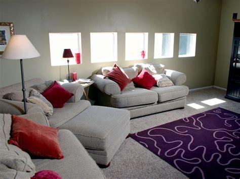 hgtv room makeover bold family room makeover hgtv