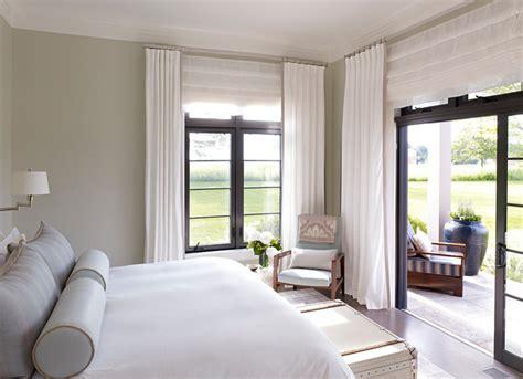 Hampton Beach House Beach Style Bedroom new york by Stephens Design Group