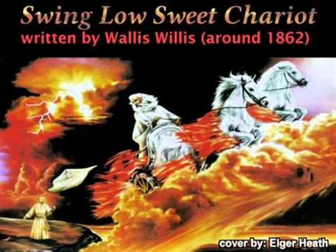 who wrote swing low sweet chariot elger heath guitar swing low sweet chariot written by