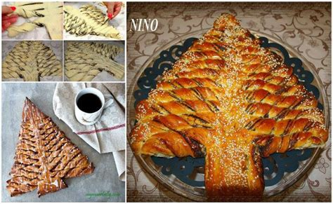 christmas tree bread recipe dishmaps