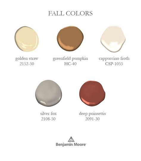 fall colours rowe spurling paint company