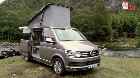 volkswagen california t6 vw bus t6 california neuauflage der legende youtube