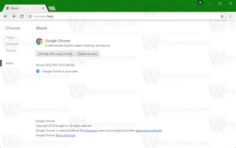 chrome faq find out google chrome version without checking for updates