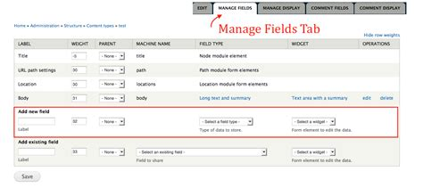 drupal theme a content type add a field to a content type drupal 7 guide on drupal org