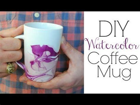 watercolor mug tutorial pinterest the world s catalog of ideas