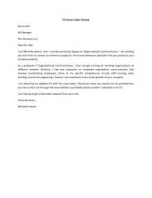 Simple Cover Letter Resume by Simple Cover Letter For Resume Berathen