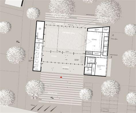 foyer grundriss festhalle akbw architektenkammer baden w 252 rttemberg