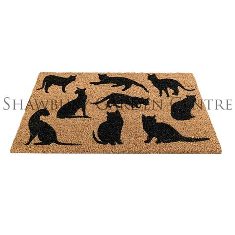 Cat Door Mat by Gardman Cats Montage Door Mat