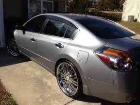 2009 Nissan Altima With 22 Inch Rims Mimiginnell S Profile In Winston Salem Nc Cardomain