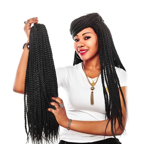 what kind of hair to use for box braids marvelous braid extensions review crochet u box for badass