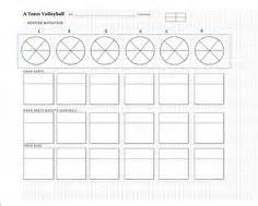 blank volleyball lineup sheets printable bing images