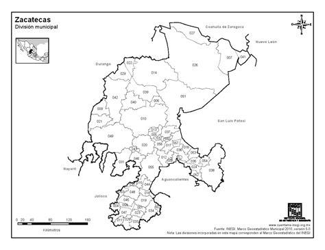 imágenes satelitales de zacatecas mapa para imprimir de zacatecas mapa de municipios de
