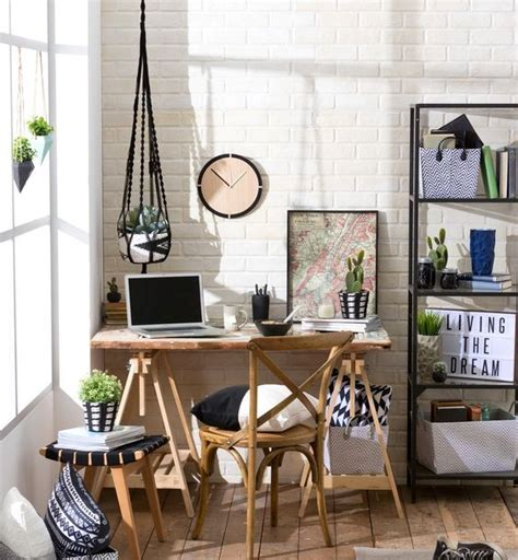 cozy home office 34 home office designs with exposed brick walls digsdigs