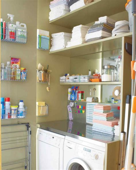 Organized Laundry Room by Craftionary