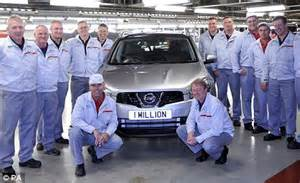 Nissan Offices Sunderland New Hatchback Nissan To Be Made In Sunderland This Is Money