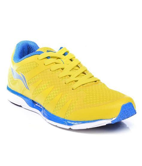 li ning yellow sport shoes price in india buy li ning