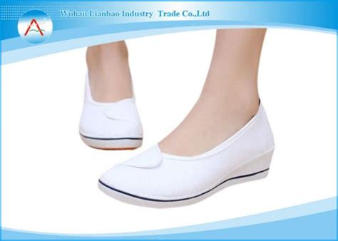 Comfortable Hospital Shoes by White Anti Bacterial Hospital Footwear Comfortable