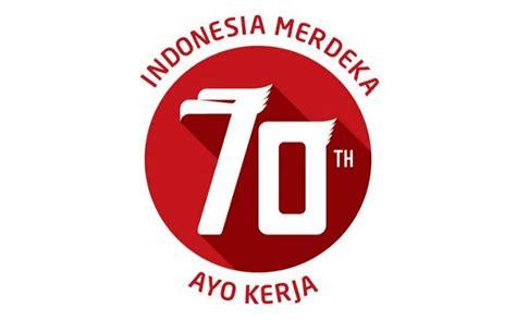 detiknews logo logo 70 tahun indonesia merdeka jadi perbincangan di