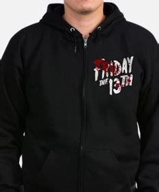 Hoodie Zipper Friday gifts for friday the 13th unique friday the 13th gift ideas cafepress
