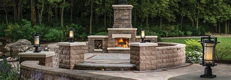 patio fireplace kit outdoor fireplaces kits ovens kitchens belgard elements