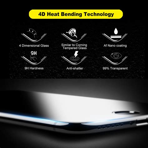 Tempered Glass 3 D For Iphone 4 4d cover tempered glass screen protector for apple
