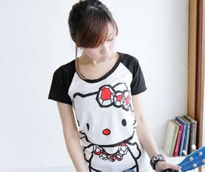 Kaos Atasan Tees Pakaian Wanita Gambar Blouse Korea H M Zara Mango New 4 model kaos wanita korea terbaru 2014 grosir baju jawa
