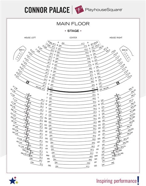 playhouse square seating seating charts playhouse square
