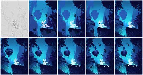 paint tool sai wood tutorial aliens beasts and tutorials on digital coloring