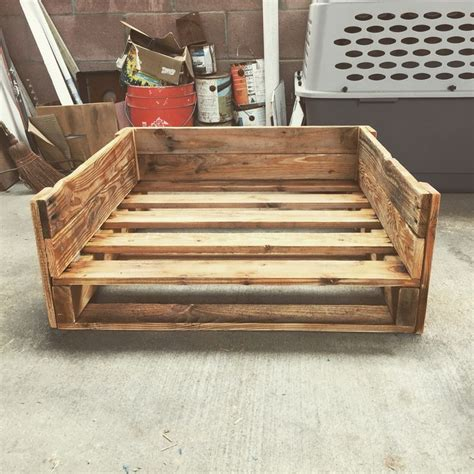 dog bed made from pallets 25 best ideas about dog bed pallets on pinterest rustic