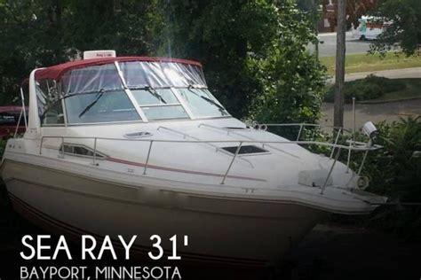 boat transport mn 1990 sea ray 310 sundancer for sale at bayport mn 55003