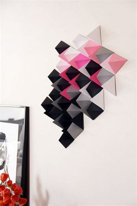 Paper Craft Wall Decorations - paper easy diy for all