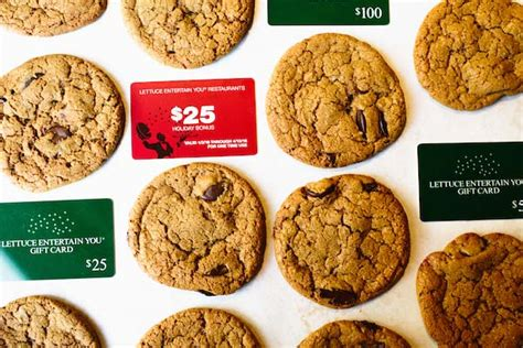 Leye Gift Cards - 12 days of holiday cookies lettuce entertain you